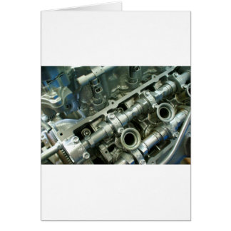Engine Motor Guts Card