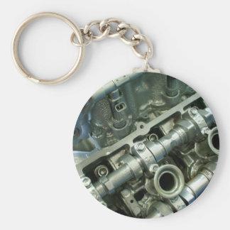 Engine Motor Guts Key Ring