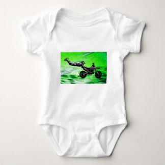 Engine stunt man baby bodysuit