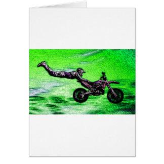 Engine stunt man card