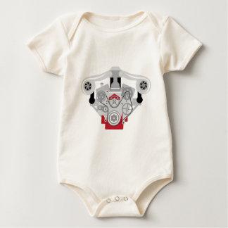Engine Twin Turbo Vector Baby Bodysuit