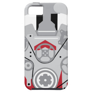 Engine Twin Turbo Vector iPhone 5 Cover