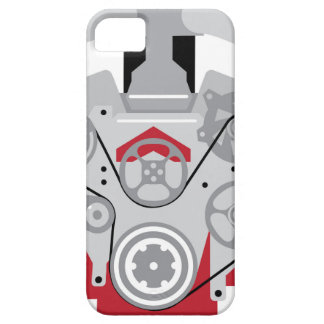 Engine Twin Turbo Vector iPhone 5 Covers