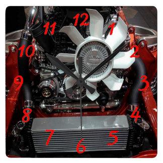 Engine Wall Clocks