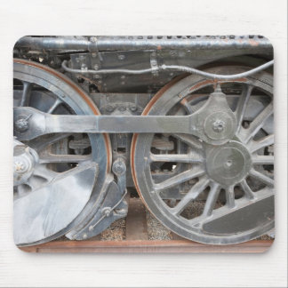 Engine Wheels Mouse Pads