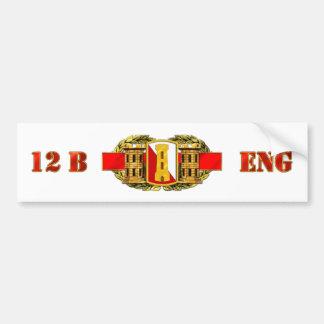ENGINEER 12B 168th EN BDE Bumper Sticker