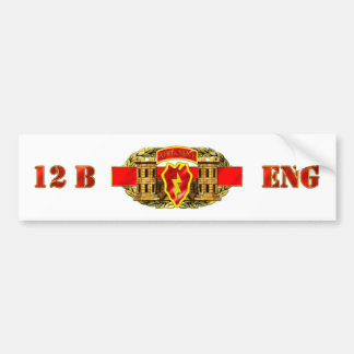 ENGINEER 12B 25TH ID AIR BUMPER STICKERS