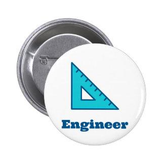 Engineer 6 Cm Round Badge
