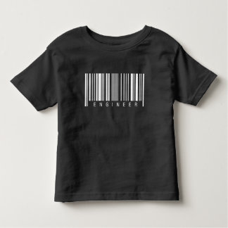 Engineer Barcode Toddler T-Shirt