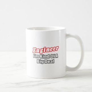 Engineer Big Deal Coffee Mugs