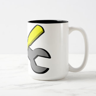 Engineer Black 15 oz Two-Tone Mug