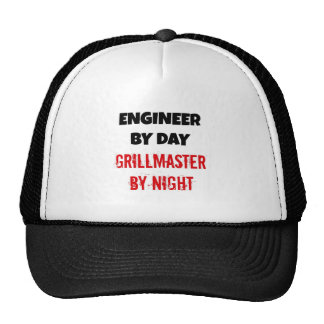 Engineer by Day Grillmaster by Night Cap