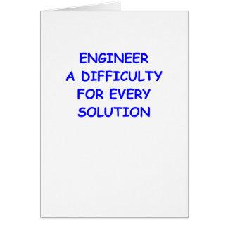 engineer card