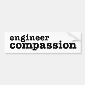 Engineer Compassion Bumper Sticker