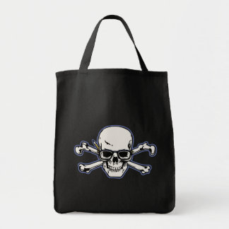 Engineer & Crossbones Tote Bag