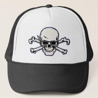 Engineer & Crossbones Trucker Hat