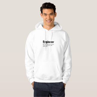 Engineer Definition  Funny Gift For Enginner Hoodie