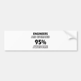 engineer designs bumper stickers