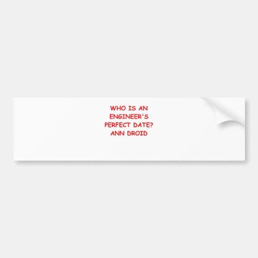 engineer engineering bumper stickers