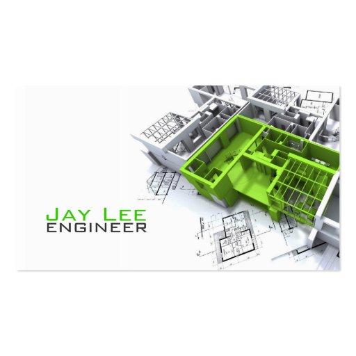 Engineer, Engineering Business Card