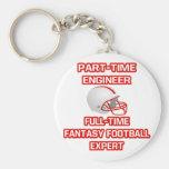 Engineer .. Fantasy Football Expert Keychains