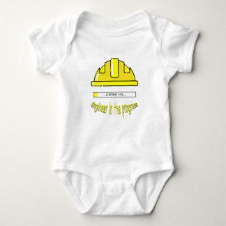 Engineer in the progress baby bodysuit