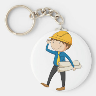 Engineer Key Ring