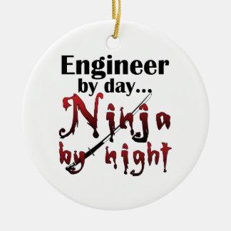 Engineer Ninja Ceramic Ornament