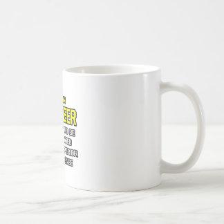 Engineer...Superior Intelligence Basic White Mug