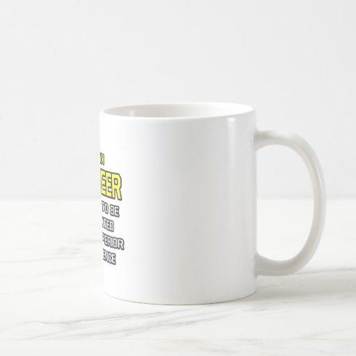 Engineer...Superior Intelligence Coffee Mugs
