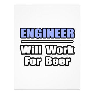 Engineer...Will Work For Beer Flyer