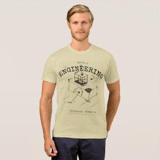 "Engineering ""nonsense schematic"" t-shirt for men"