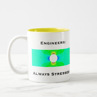 Engineers Always Stressed Humor Mug