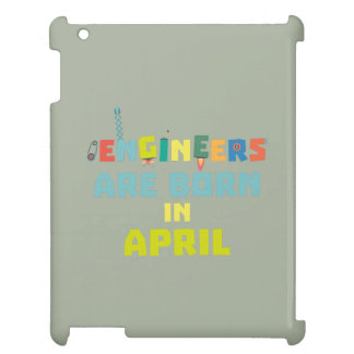 Engineers are born in April Z5h58 Case For The iPad 2 3 4