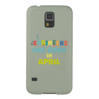 Engineers are born in April Z5h58 Galaxy S5 Cover