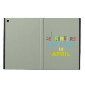 Engineers are born in April Z5h58 iPad Air Case
