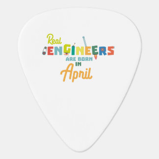 Engineers are born in April Zjz85 Plectrum
