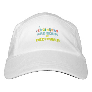 Engineers are born in December Zma90 Hat