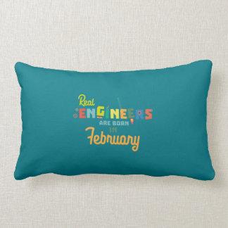 Engineers are born in February Zltl5 Lumbar Cushion