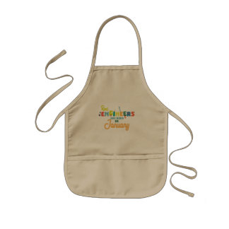 Engineers are born in January Zn619 Kids Apron