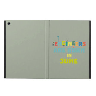 Engineers are born in June Zo3k7 iPad Air Cover