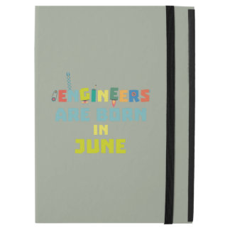 "Engineers are born in June Zo3k7 iPad Pro 12.9"" Case"