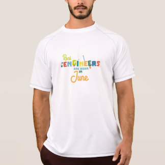 Engineers are born in June Zvl3m T-Shirt
