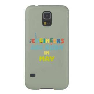 Engineers are born in May Z863d Galaxy S5 Cover