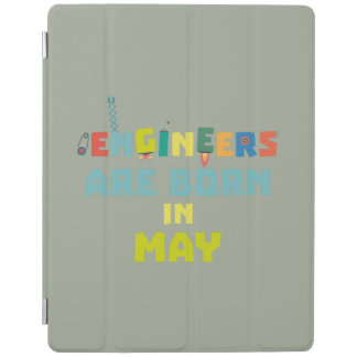 Engineers are born in May Z863d iPad Cover