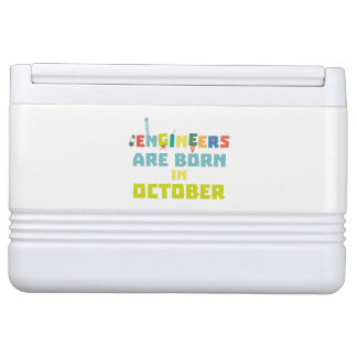 Engineers are born in October Z3zoj Cooler