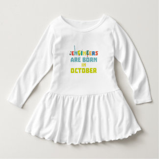 Engineers are born in October Z3zoj Dress