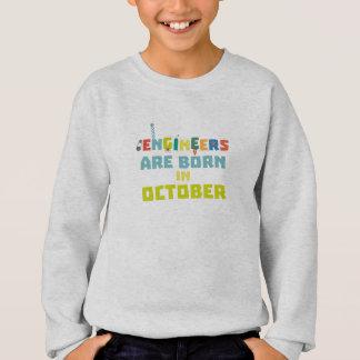 Engineers are born in October Z3zoj Sweatshirt