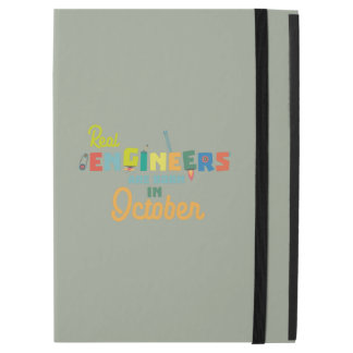"""Engineers are born in October Zs52p iPad Pro 12.9"""" Case"""