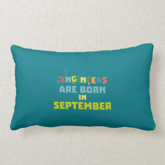Engineers are born in September Z0ow6 Lumbar Cushion